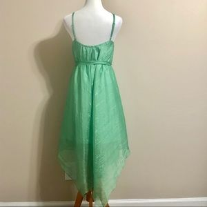 Anthropologie Dresses - Anthropologie HD in Paris Green Handkerchief Dress